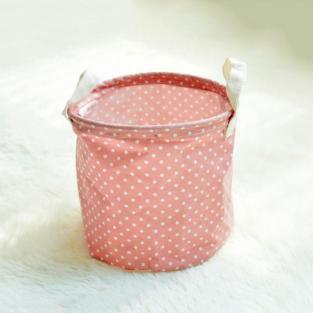 Корзина для игрушек, белья, хранения Pink peas Berni Home