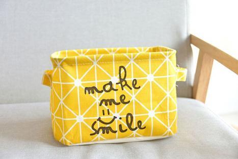 Корзина для игрушек Berni Smile yellow