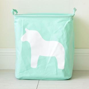 Корзина для игрушек Berni Horse mint