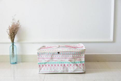 Корзина для игрушек с крышкой Berni Pattern
