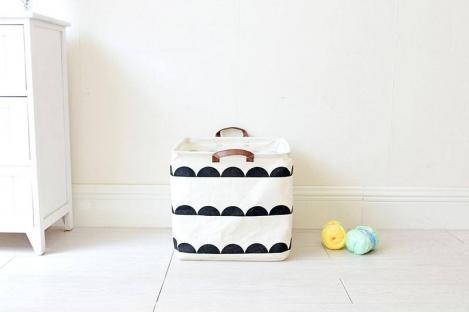 Корзина для игрушек Berni Semicircle