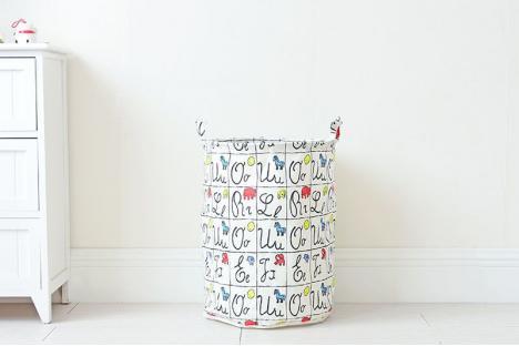 Корзина для игрушек Berni Letters