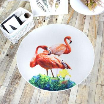 Коврик Фламинго 100х100 см