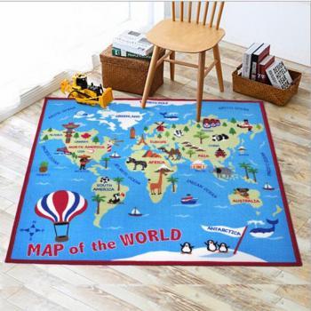 Коврик Карта мира 100х150 см