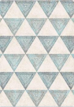 Коврик Треугольники 133х190 см