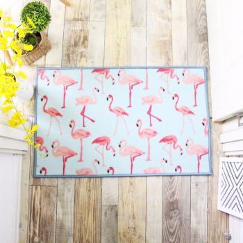 Коврик Розовые фламинго 50х80 см
