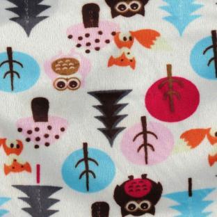 Флисовая пеленка - кокон на липучках