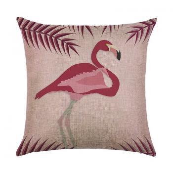 Подушка Розовый фламинго
