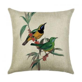 Подушка Птичья пара