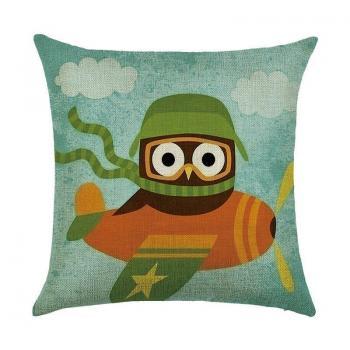 Подушка Сова летчик