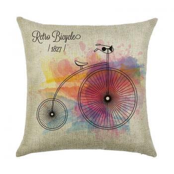 Подушка Ретро-велосипед