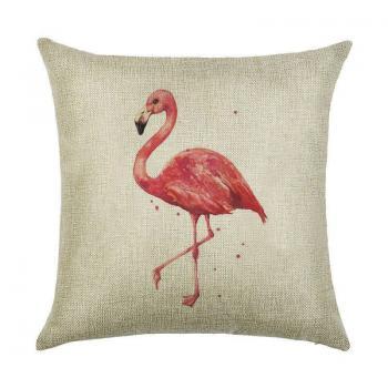 Подушка Одинокий фламинго