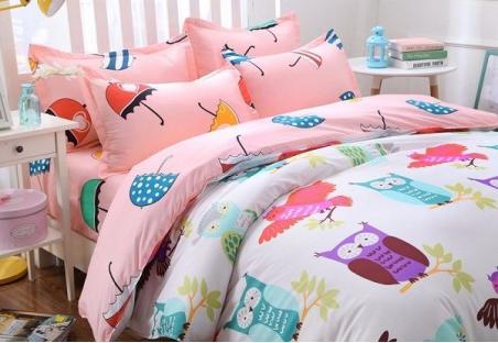 Комплект постельного белья Owl and Umbrella