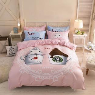 Комплект постельного белья Rabbit Cafe