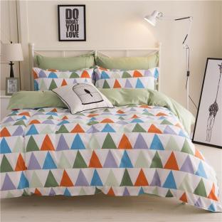 Комплект постельного белья Triangles Green