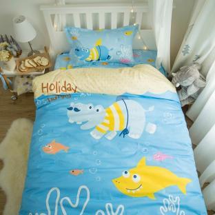 Комплект постельного белья Crazy Hippo