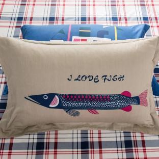Комплект постельного белья Love Fish