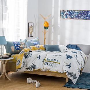 Комплект постельного белья Plants