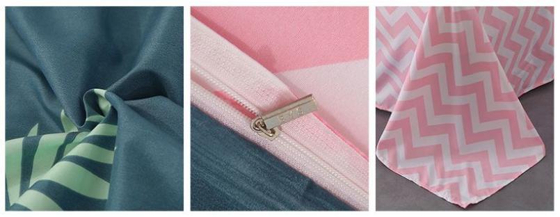 Комплект постельного белья Flamingo and Zigzags