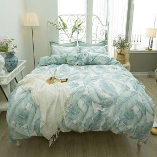 Комплект постельного белья Тропическая листва