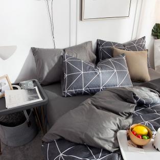 Комплект постельного белья Треугольники