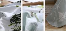 Комплект постельного белья Папоротники