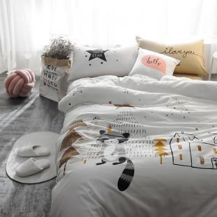 Комплект постельного белья Raccoon