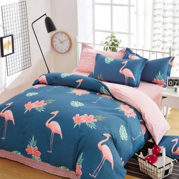 Большие фламинго (Полуторный)