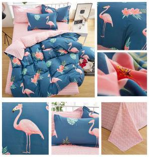 Комплект постельного белья Big Flamingos