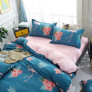 Комплект постельного белья Flamingo and Flowers