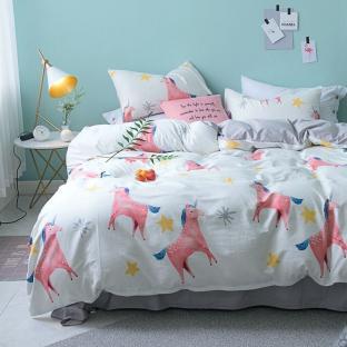 Комплект постельного Pink Unicorns (полуторный)