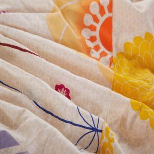 Простынь на резинке 150x200 см Полевые цветы