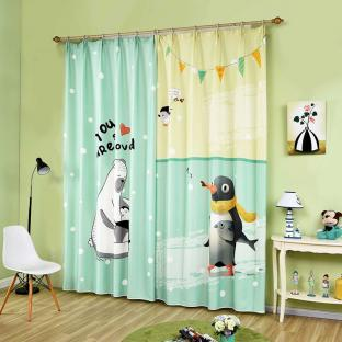 Шторы для деткой комнаты Polar Bear and Penguin