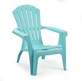 Садовое кресло для дачи Dolomiti голубое