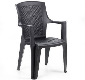 Садовое кресло для дачи Eden антрацит