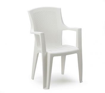 Садовое кресло для дачи Eden белое