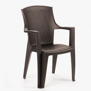 Садовое кресло для дачи Eden коричневый