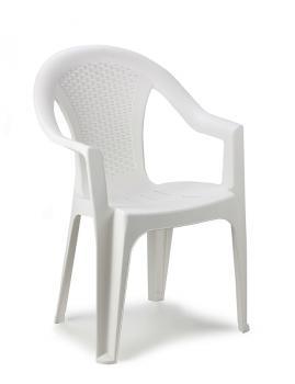 Садовое кресло для дачи Ischia белое