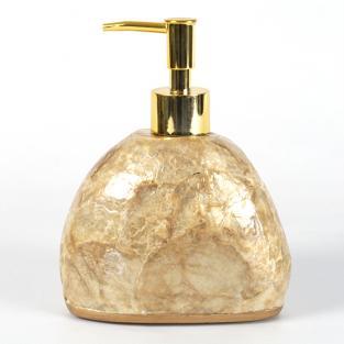 Дозатор для мыла Irya Sedef gold золотой