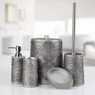 Комплект в ванную Irya Lane gri серый (5 предметов)