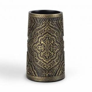 Стакан для зубных щеток Irya Lane bronz бронзовый