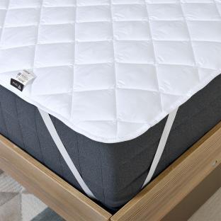 Стеганый наматрасник Идея Comfort детский с резинками по углам 60x120 см
