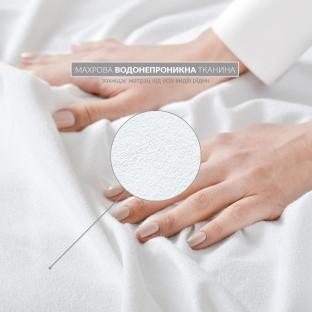 Водонепроницаемый наматрасник Идея AQUA STOP с резинками по углам 140x200 см