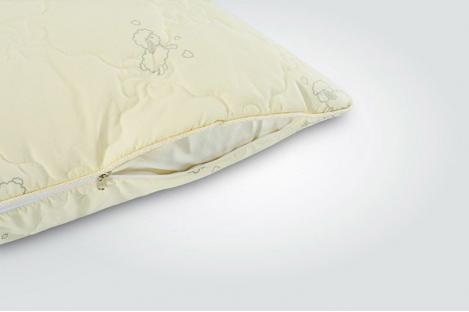 Подушка с овечей шерсти  Wool Classic