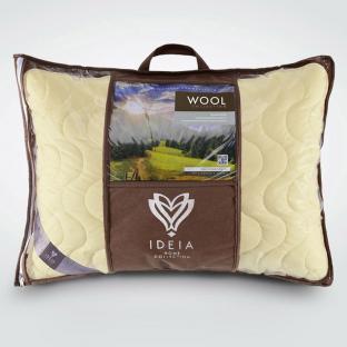 Подушка с овечей шерсти  Wool Premium