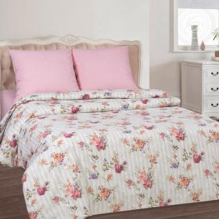 Комплект постельного белья из поплина Розовое вдохновение