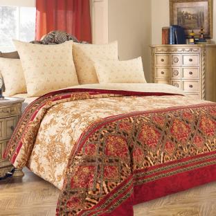 Комплект постельного белья из перкаля Императрица 2