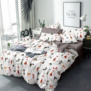 Комплект постельного белья из сатина Багира
