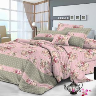 Комплект постельного белья из сатина Дебора