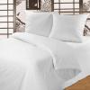 Комплект постельного белья из хлопка Белая